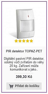 PIR TOPAZ-PET